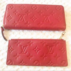 Louis Vuitton Portefeuille Clemence Wallet M60169